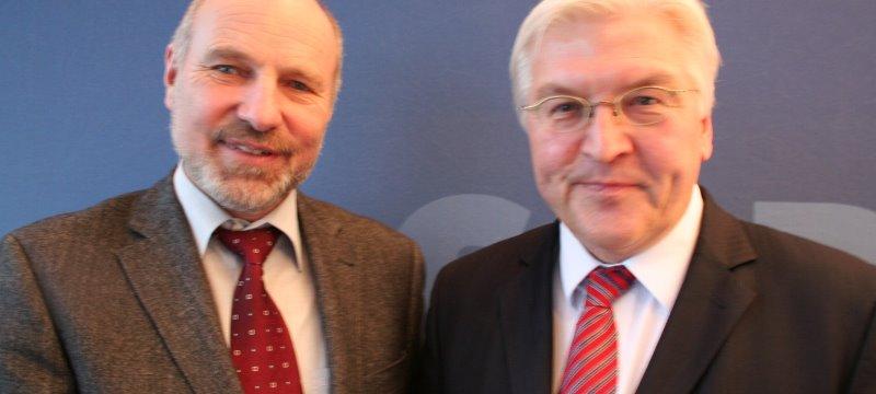 Rainer Arnold und Frank Walter Steimeier