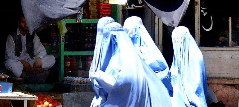 Burka-Trägerinnen