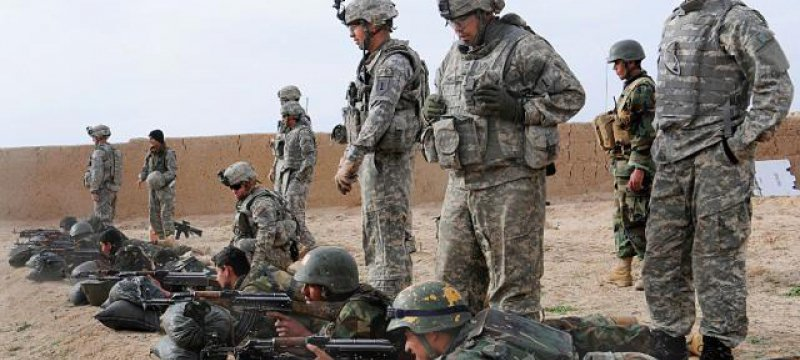 US-Soldaten bei der Ausbildung von afghanischen Truppen