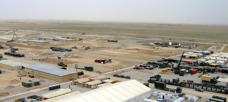 "Deutsches Bundeswehrcamp ""Camp Marmal"" in Afghanistan"