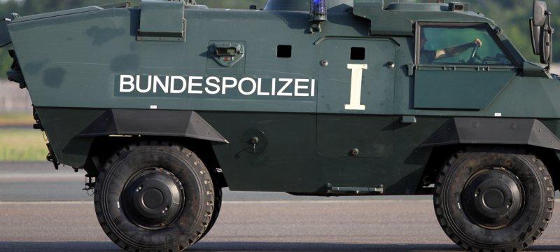 Panzer der Bundespolizei