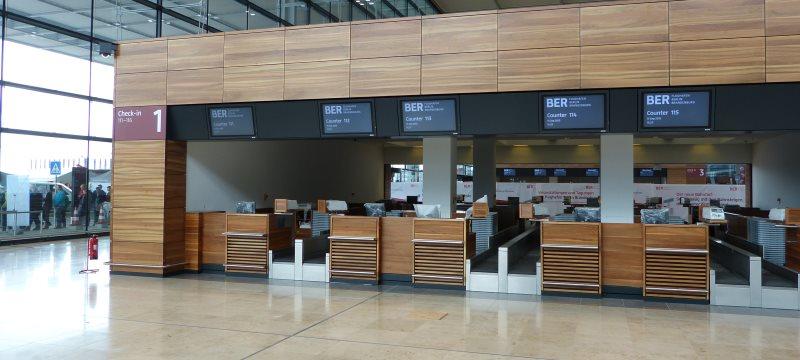 BER Flughafen Terminal