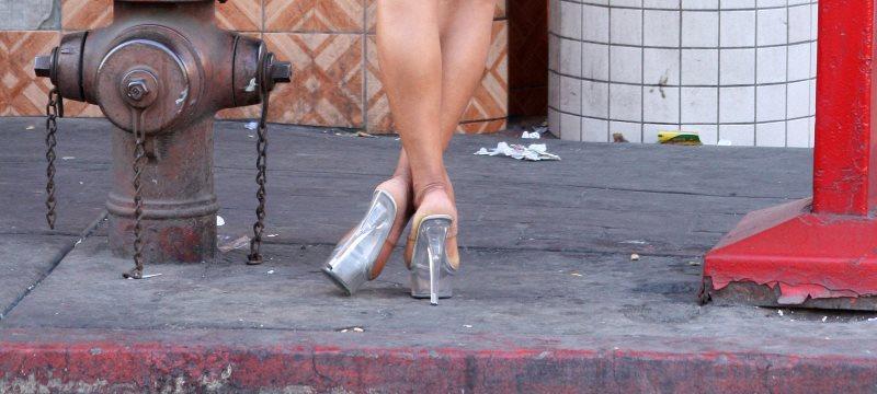 Prostituierte Frau Füße