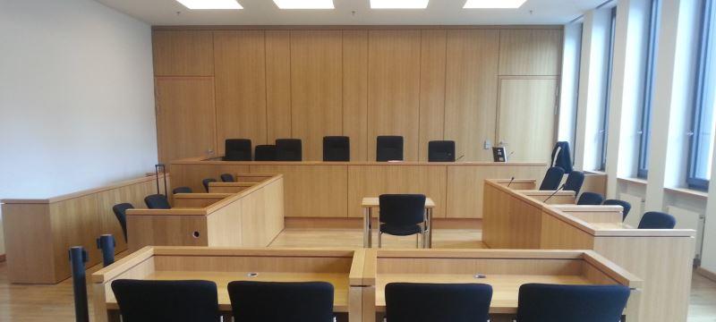 Justizzentrum Aachen Gerichtssaal