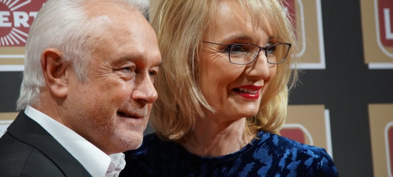 Wolfgang Kubicki mit Ehefrau Annette Marberth 2016