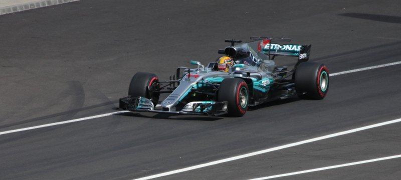Formel-1-Rennauto von Mercedes