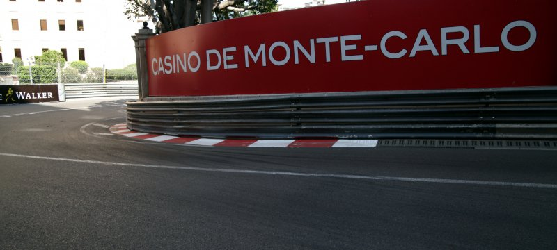 Formel-1-Rennstrecke in Monaco