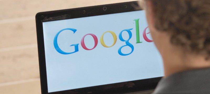 Google-Nutzer am Computer