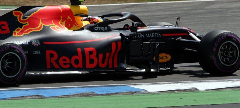 Formel-1-Rennauto von Red Bull