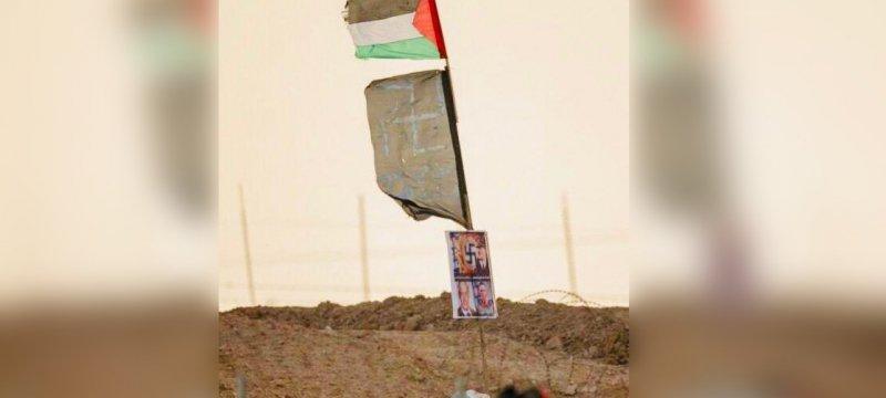 Vom israelischen Militär verbreitetes Foto