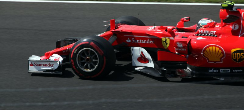 Formel-1-Rennauto von Ferrari