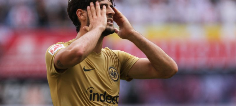 Gonçalo Paciência Eintracht Frankfurt