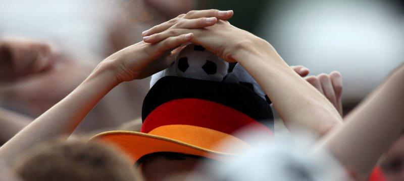 Fußballfan der Deutschen Fußball-Nationalmannschaft