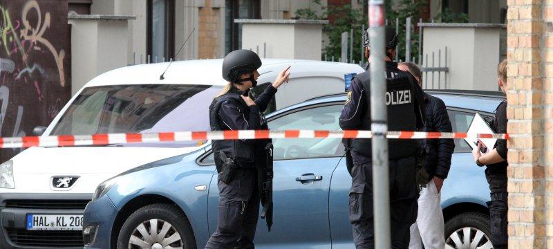 Polizeieinsatz 09.10.2019 in Halle Saale