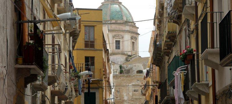 Eine Kirche in Italien