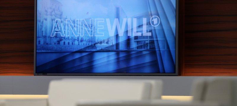 """ARD-Fernsehstudio """"Anne Will"""""""