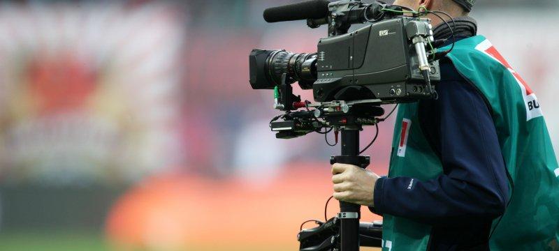 Fernsehübertragung eines Bundesliga-Spiels